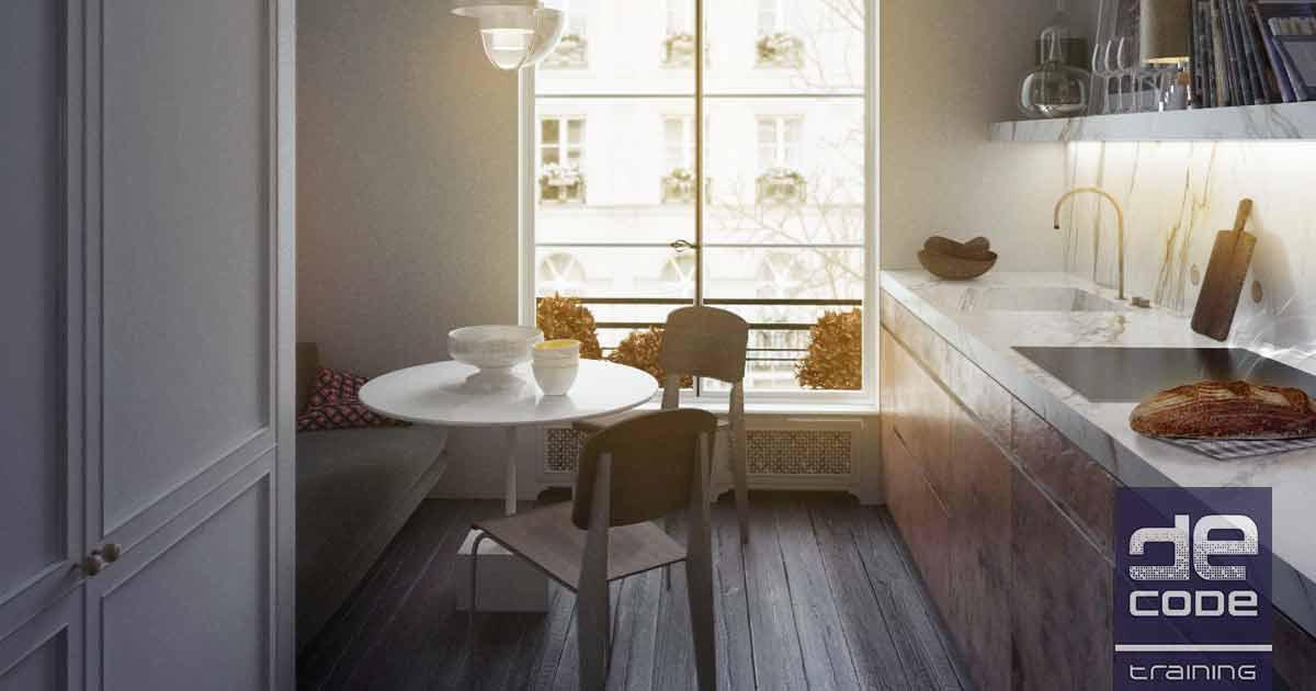 Saint Germain Apartment - VRay L 1 - Decode Fab Lab