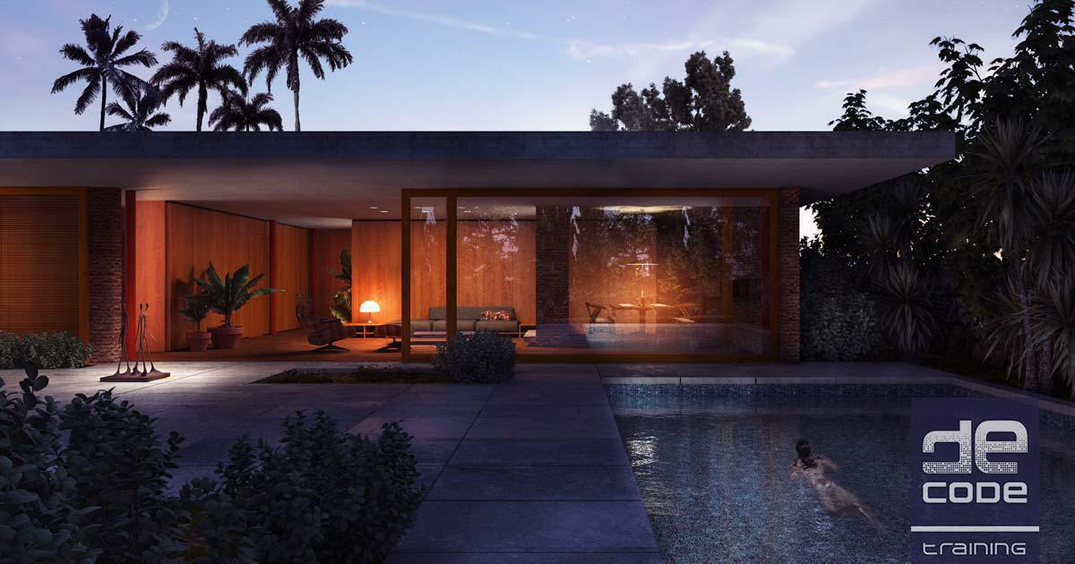 Valsamakis Residence - VRay for Rhino - Decode Fab Lab