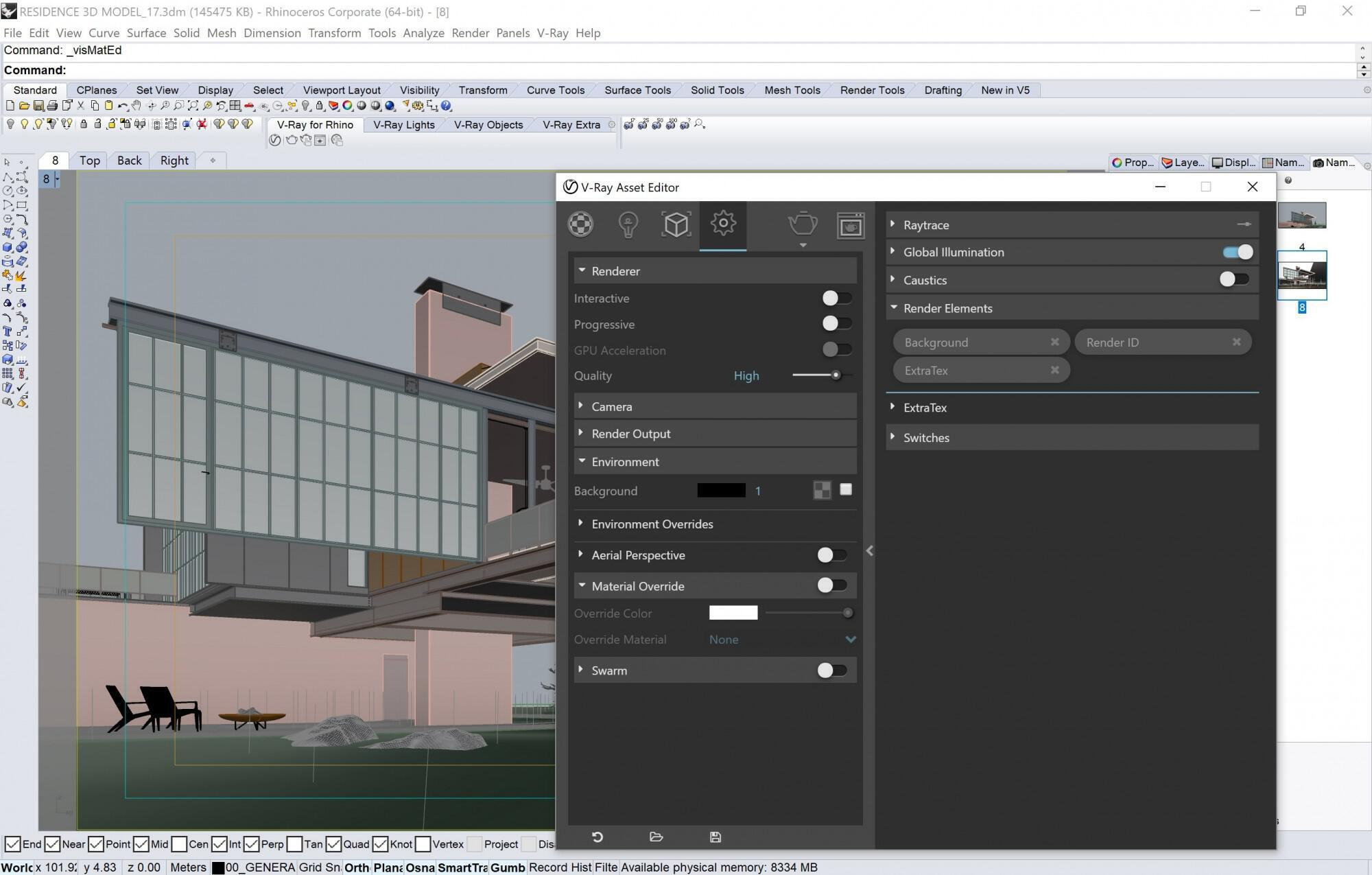 Vray_3 6 for Rhino | Hover House - Decode Fab Lab